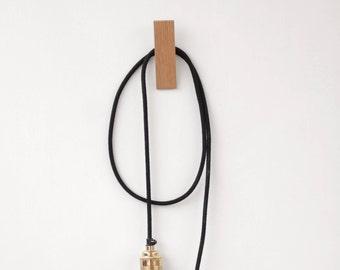 Contemporary Oak Wall Hook