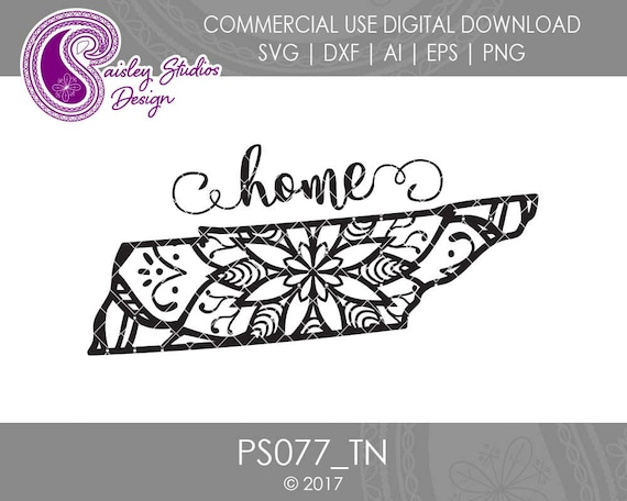Black and white art Tennessee decor Tennessee svg
