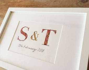 Wedding Initial Illustrations - Made to Order