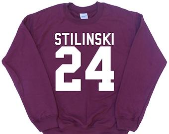 STILINSKI 24 Stiles Dylan O'brien - Teen Wolf Inspired Fan Jumper - Various Colours Available Unisex Sweatshirt