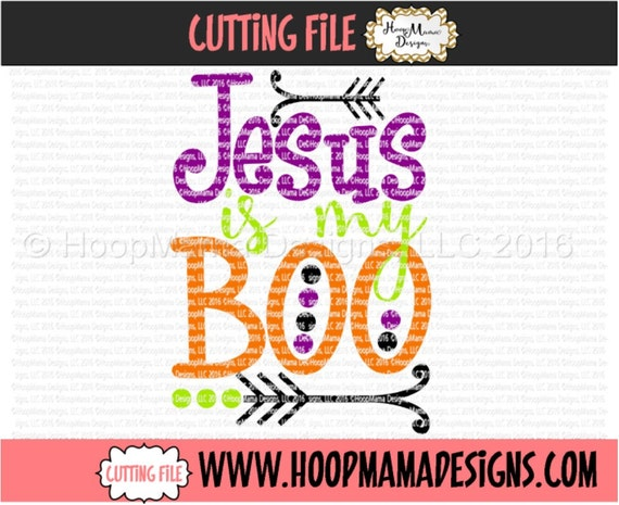 Jesus Is My Boo Christian Halloween Svg Dxf Eps And Png Etsy