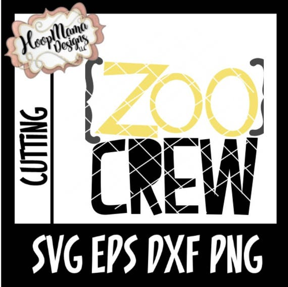 Zoo Trip Svg Cutting Filezoo Crew Svg Dxf Eps And Png Files Etsy