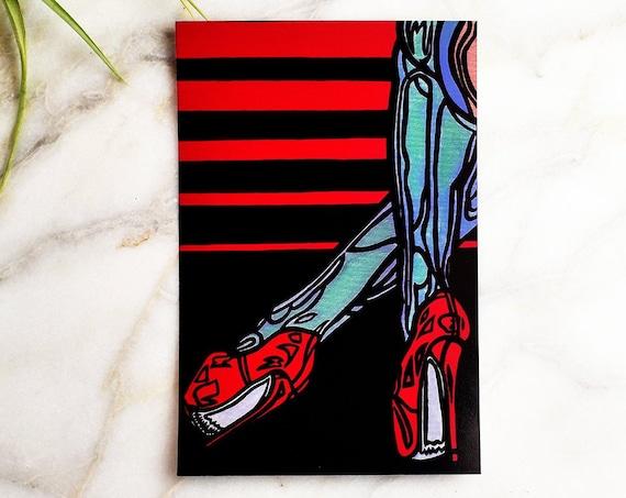 "Tanja // 4x6"" print"