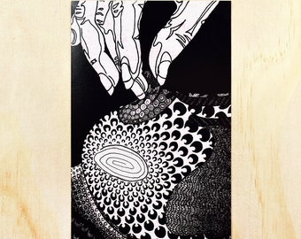 "Lexi [open edition print, 4x6""]"