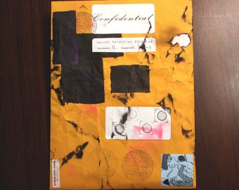 Confidential Collection - ooak mystery print envelopes