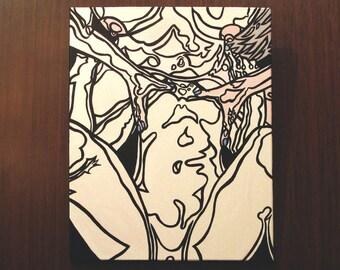 "C+E [original painting, 16x20""]"