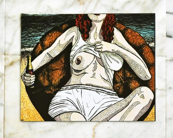 """Sara // 8x10"""" print"""