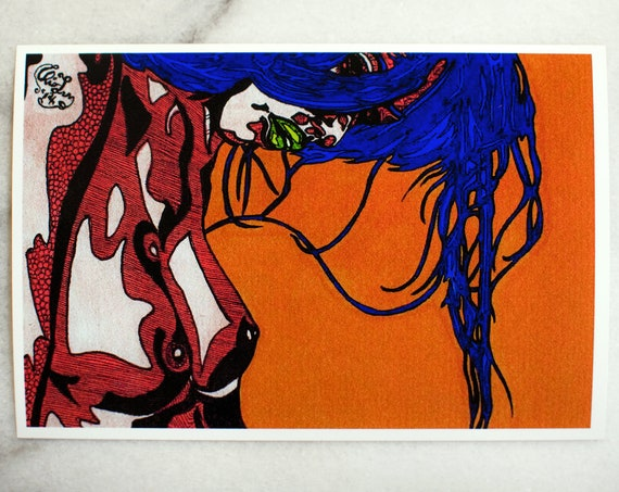 "Julie // 4x6"" print"