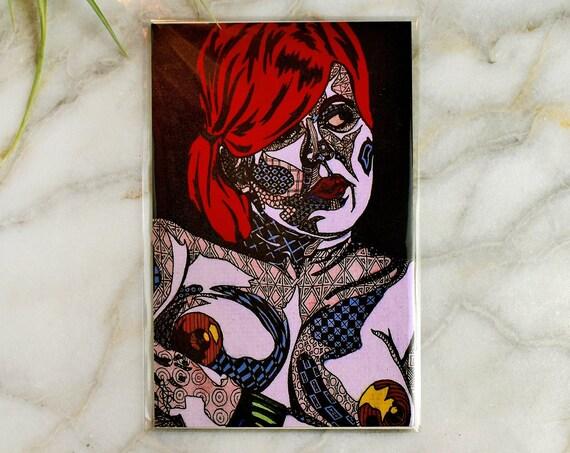 """Lauren // 4x6"""" print"""