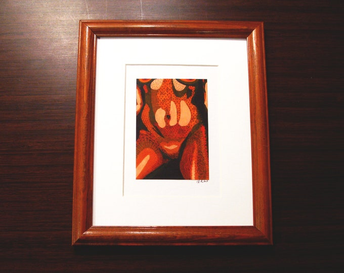 """Featured listing image: Nicole [3.5x5.5"""" in 9.5x11.5"""" frame]"""