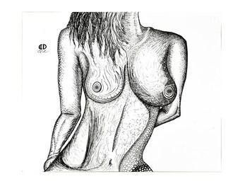 """Kala [original drawing, 8.5x11""""]"""