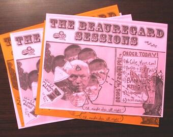 "The Beauregard Sessions [satirical handbill print, 8.5x11""]"