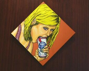"""Mackenzie [acrylic on canvas, 12x12""""]"""