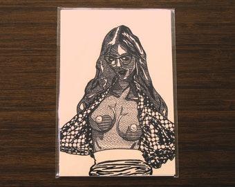 """Brynne [open edition print, 4x6""""]"""