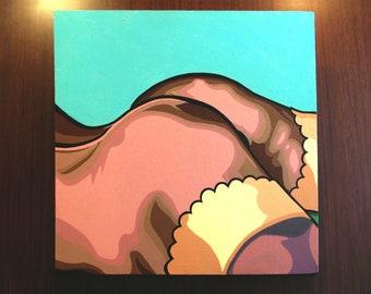 "Candace [acrylic on canvas, 30x30""]"