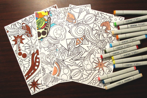 Pure Lust Bundle - coloring page downloads