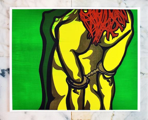 """Cuffs // 16x20"""" print"""