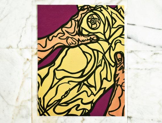 """Two // 11x14"""" print"""