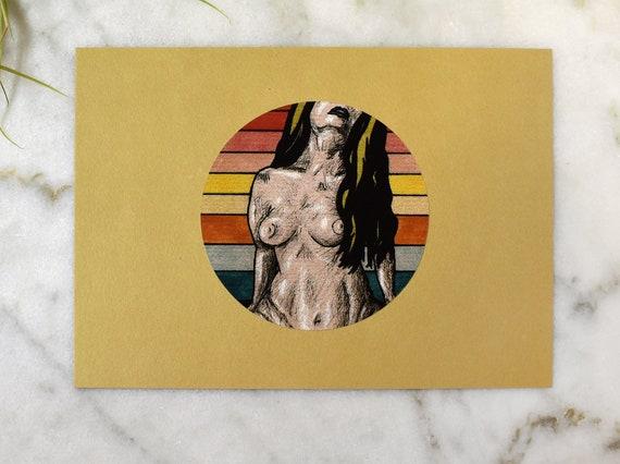 "Amanda // 5x7"" print"
