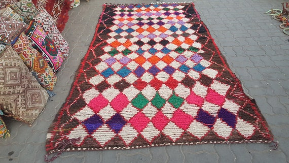 Gorgeous Azilal Berber Rug Tapis Berbere Alfombras Maroques Etsy
