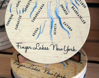 Finger lakes Coaster Set