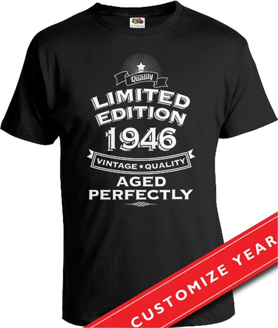 NEW 70 YEARS TO LOOK THIS GOOD 70th BIRTHDAY T Shirt 2 Present Quality
