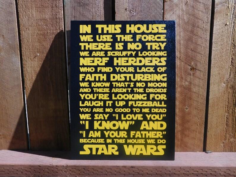 Citaten Uit Star Wars : In dit huis doen we star wars geek chic home decor star etsy