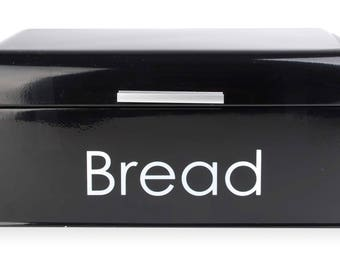Bread box black Bread