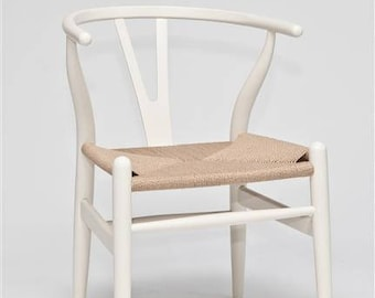 Chair wood Wicky white