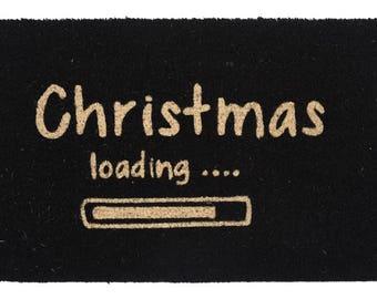 Doormat Christmas loading...