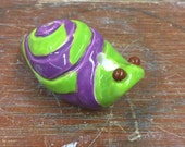 Clay Snail Whistle