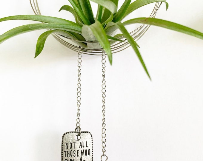 Bohemian Style Whimsical Air Plant Hanger