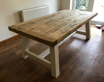 Purbeck Shabby Chic Dining Table