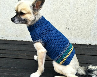 XS Ready for Shipping Crochet Dog Jumper, Dog Clothes, Pet Accessories
