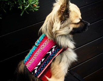Mexican Dog Harness, Dog Vest, Pet Accessories, Chihuahua Harness, Pet Harness