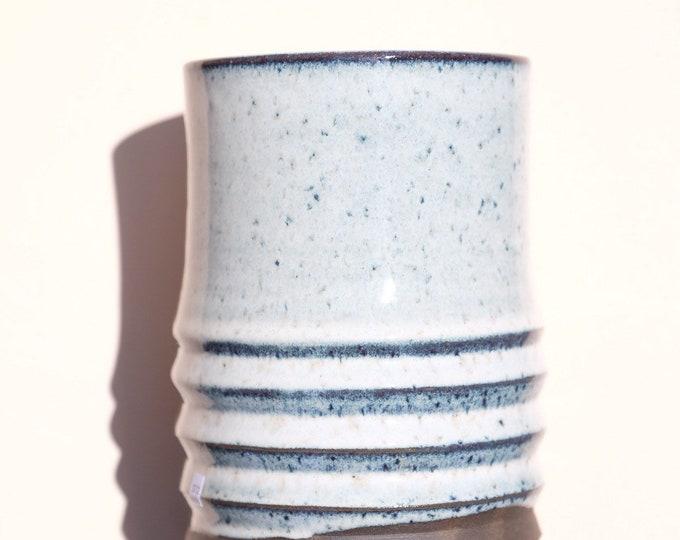 Southern Frost Zagged Vase