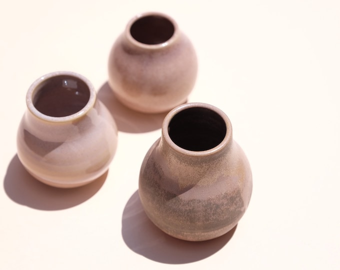 Small Bubble Vases
