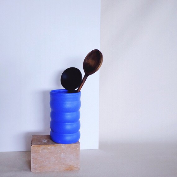 Lazurite Wobble Vase