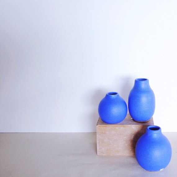 Lazurite Bubble Vases
