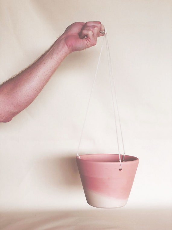 Natural Umbre Hanging Planter