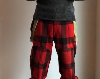 cbd0f46f5114b Vintage woolrich pants - 1950s woolrich pants - vintage hunting pants - vintage  wool pants - 1950s wool pants - 1950s mens pants