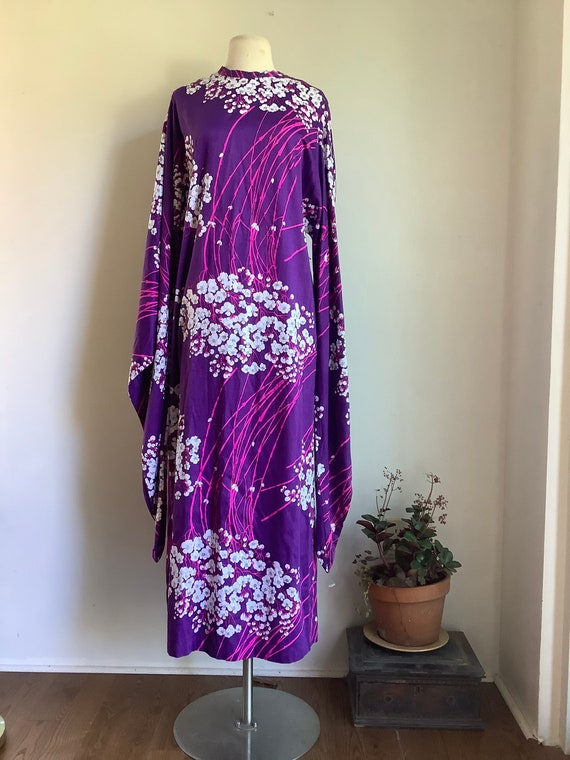 Vintage dress - 1960s dress - vintage maxi dress -