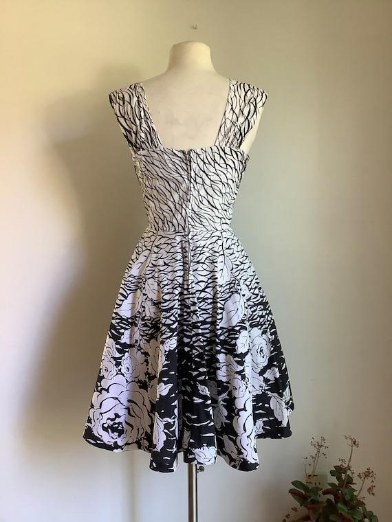 Vintage dress - 1950s dress - vintage cotton dres… - image 5