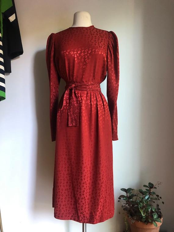 Vintage dress - 1980s dress - secretary dress - 19