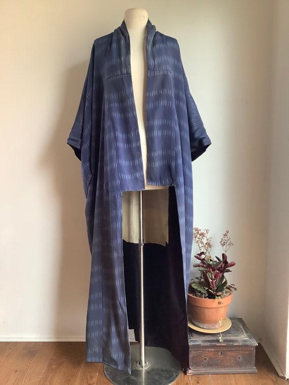 Vintage kimono - vintage silk kimono - silk kimono