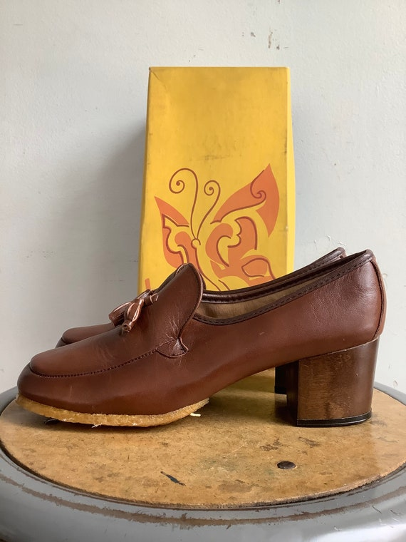 Vintage shoes - 1970s shoes - vintage viner casual