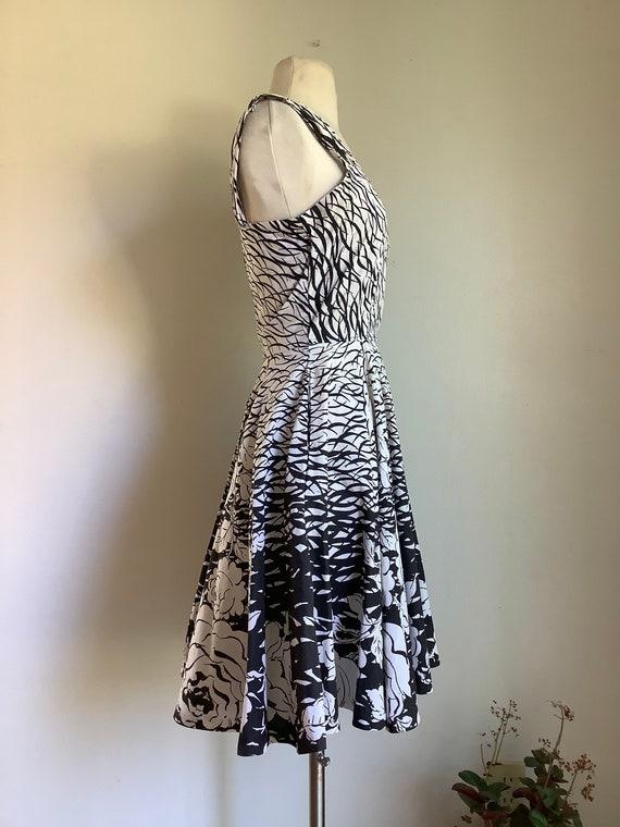 Vintage dress - 1950s dress - vintage cotton dres… - image 3