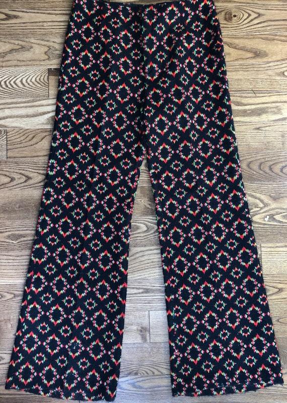 1970s pants - vintage pants - vintage women's pant