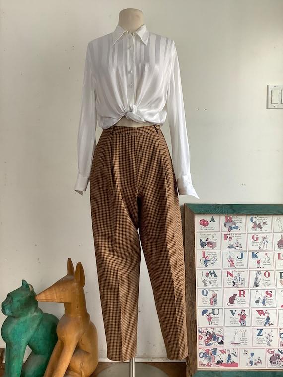 Vintage Elizabeth Ascot pants - vintage pants - 19