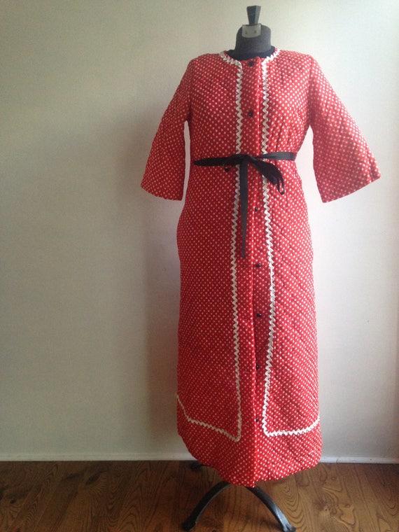 Vintage robe - Vintage coat - 1960s robe - 1960s c